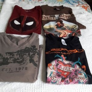 Bundle of t-shirts